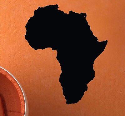 Africa -Wall Vinyl Decal Sticker Continent Safari Jungle Theme Playroom Art Kids