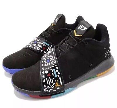 9d6cc92fb1170f Jordan CP3.XI Martin Mens AA1272-007 Black Multicolor Basketball Shoes Size  8