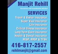 Travel Visitor and SuperVisa Insurance