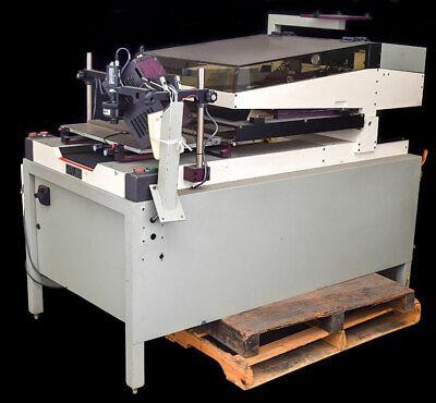 Hti Engineering Ht-9 Dual Squeegee Silkscreen Screen Printer Work Station