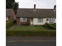 2 bed bungalow in Cambridgeshire village