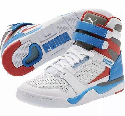Men's PUMA Palace Guard Sky High Retro Basketball Shoes | Size 8