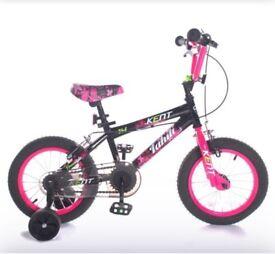 """14"""" Girls Tahiti Bike"""