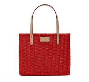 Kate Spade red basket (authentic)