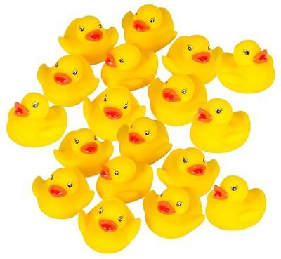 Small Rubber Ducks (Tiny Small Rubber Duckies Ducky Float Floatie Bulk Bathroom Products Baby)