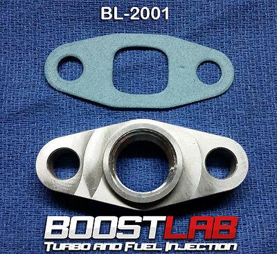 BL T3T4 Turbo 12 NPT Oil Drain Flange Fits ALL Square Drain Turbochargers