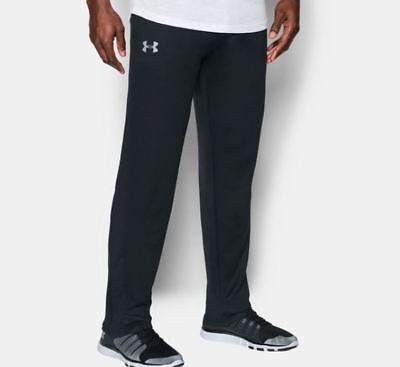 Under Armour Mens Tech Terry Sweat Pants Size M L XL 2XL Black Athletic Tapered