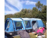 VANGO AIRBEAM TENT (EDORAS 400) BARGAIN @ £700 ono ONLY USED TWICE!