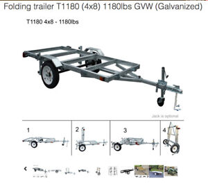 Utility~ATV~Kayak~Boat trailer Kit (W/ 50% off Spare Wheel) -PE