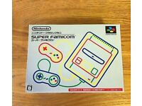 SNES MINI CLASSIC Japan version Super Nintendo