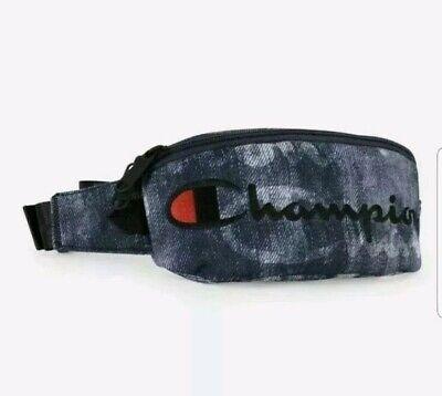 Denim Fanny Pack (Champion Prime Sling Bag Fanny Pack Denim Navy Waist Bag Shoulder Bag)