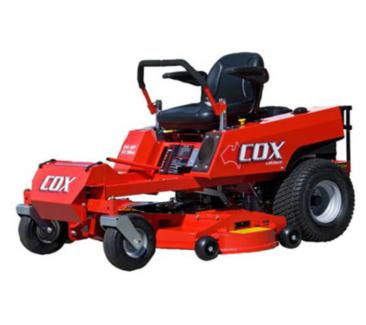 Cox Cruiser ride-on-mower