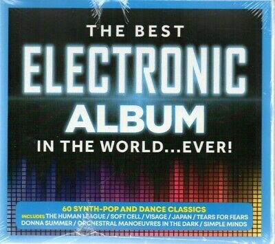 The Best Electronic Album In The World...Ever! - Various Artists (CD 2019)
