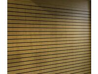 Slat wall retail display wall boards