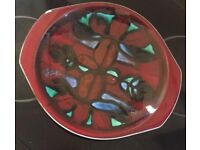Large Poole Pottery charger Plate