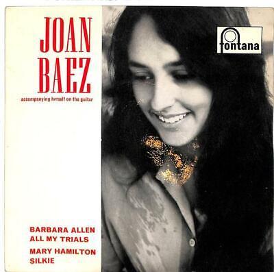 "Joan Baez - Joan Baez Accompanying Herself On The Guitar - 7"" Record Single"
