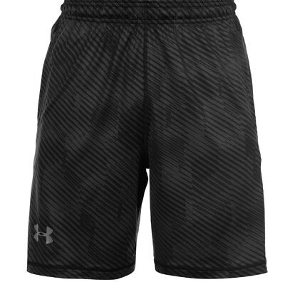 Rave Shorts Mens (Under Armour  UA RAVE Novelty Printed Shorts Black Mens Large)