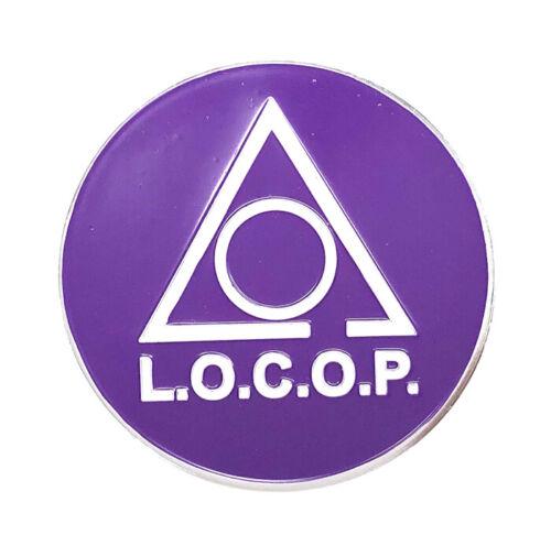 Ladies of the Circle of Perfection, L.O.C.O.P.  2 3/4 inch car emblem #CCOP