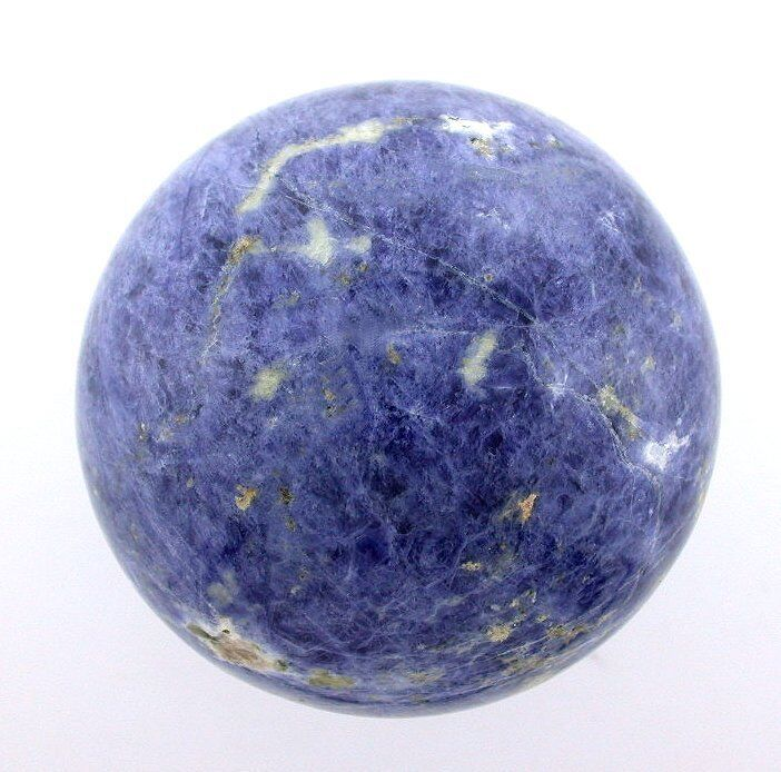 70mm 2 3/4 Inch Sodalite Sphere Crystal Ball Natural Gemstone Gem Stone S97