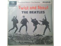 The Beatles - Twist,and Shout 4 track vinyl EP 1963