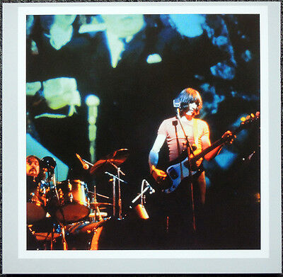 PINK FLOYD POSTER PAGE 1974 ROGER WATERS & NICK MASON BRITISH WINTER TOUR . H31