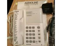 New Audioline answering system telephone