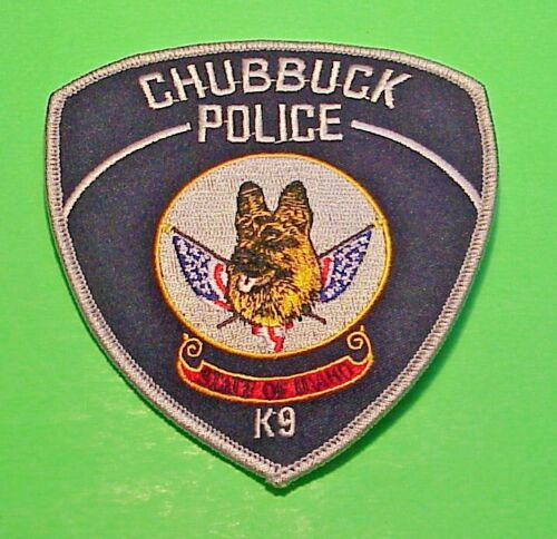 "CHUBBUCK  IDAHO  ID  K-9  4 1/2""  POLICE PATCH  FREE SHIPPING!!!"