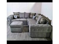 BRAND NEW VERONA CHESTERFIELD CORNER & 3+2 SEATER COUCH AVAILABLE IN STOCK ORDER NOW..