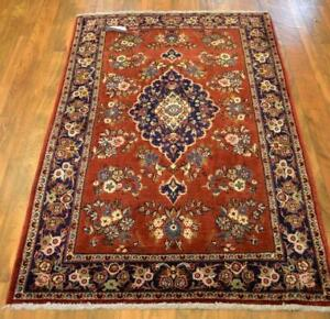 13307-Ghom Hand-knotted/Handmade Persian Rug