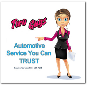 Two Guys Service Garage - Service You Can Trust