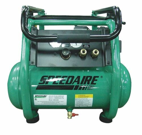 Speedaire 2HP - 5.5 cfm 175 psi portable air compressor model 2MLW5