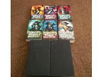 Skullduggery pleasant 2-9 plus free side book