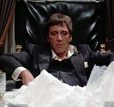 "Al Pacino Scarface Tony Montana Art Movie Poster HD Print Decor 12"" 16"" 20"" 24"""