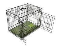 Dog puppy crate medium 30 inches