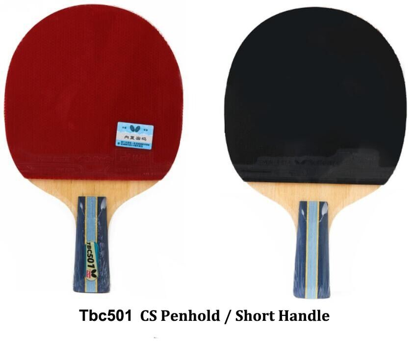 Japan BUTTERFLY 5 Star TBC501 Table Tennis Racket Long//Short Handle PING PONG