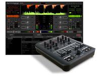 M-Audio X-Session Pro USB Midi DJ Mixer Controller, Software and Lead