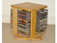 Pine Cube CD Storage Unit in Excellent Condition
