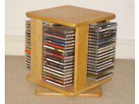 Pine CD Storage Unit in Excellent Condition