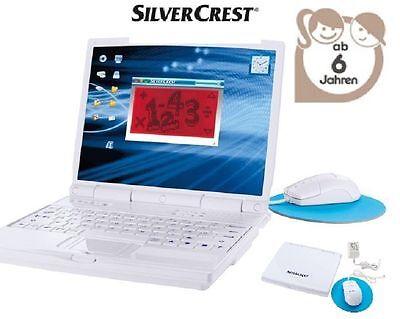 SILVERCREST® Kinder-Lerncomputer Mit 110 Lern- & Spielfunktionen 3 Sprachen OVP