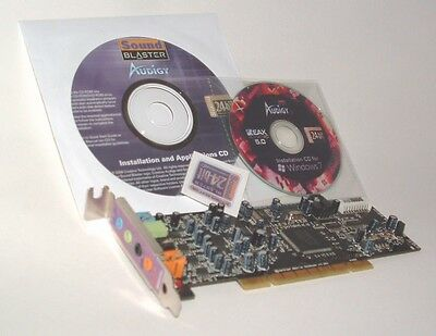 Creative Sound Blaster Low Profile Audigy SE PCI sound card Refurbished!