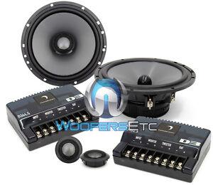D364-5-DIAMOND-AUDIO-6-75-2-WAY-CONVERTIBLE-COMPONENT-MIDS-TWEETERS-SPEAKERS-NEW
