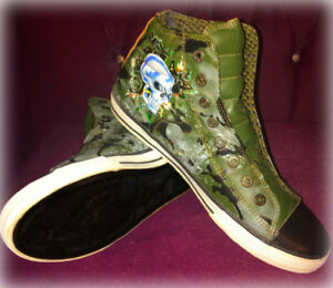 Ed Hardy Mens High-top Sneakers Size 11 - $40 OBO