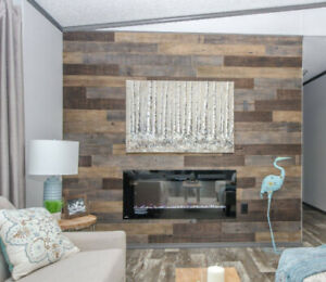 BLOW OUT SALE - AS-IS WOOD WALL