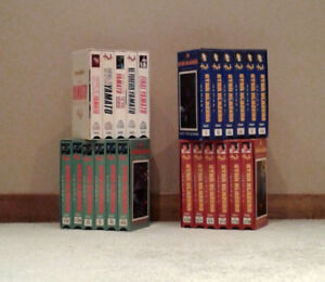 Anime VHS Tapes $2.00-$3.00