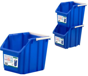 Recycling Blue-Stack Carry-Bin - 3 piece set - ($25)