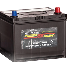 NEW Small CAR BATTERY PowerSonic PNS40ZLS Mnt Free 330CCA 42B19LS Morningside Brisbane South East Preview