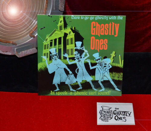 "RARE Original ""The GHASTLY ONES"" Near Mint RECORD in JACKET - Rob Zombie 33rpm"