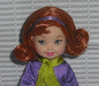 Scooby Doo Daphne Dress (DRESSED LFOK KELLY MATTEL BARBIE DOLL MYSTERIES WITH SCOOBY DOO DAPHNE FOR)
