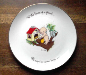 1973 KEWPIE COLLECTOR'S EDITION PLATE