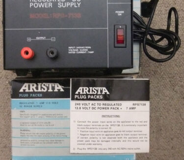 Power Supply, Heavy Duty, High Current 7Amp. NOS